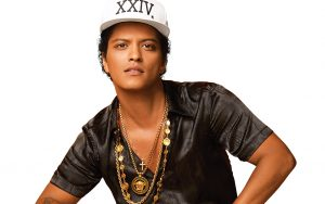 Bruno Mars performs live at AmericanAirlines Arena