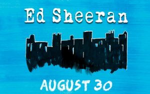 Ed Sheeran performs live at AmericanAirlines Arena