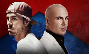 Enrique Iglesias and Pitbull live!