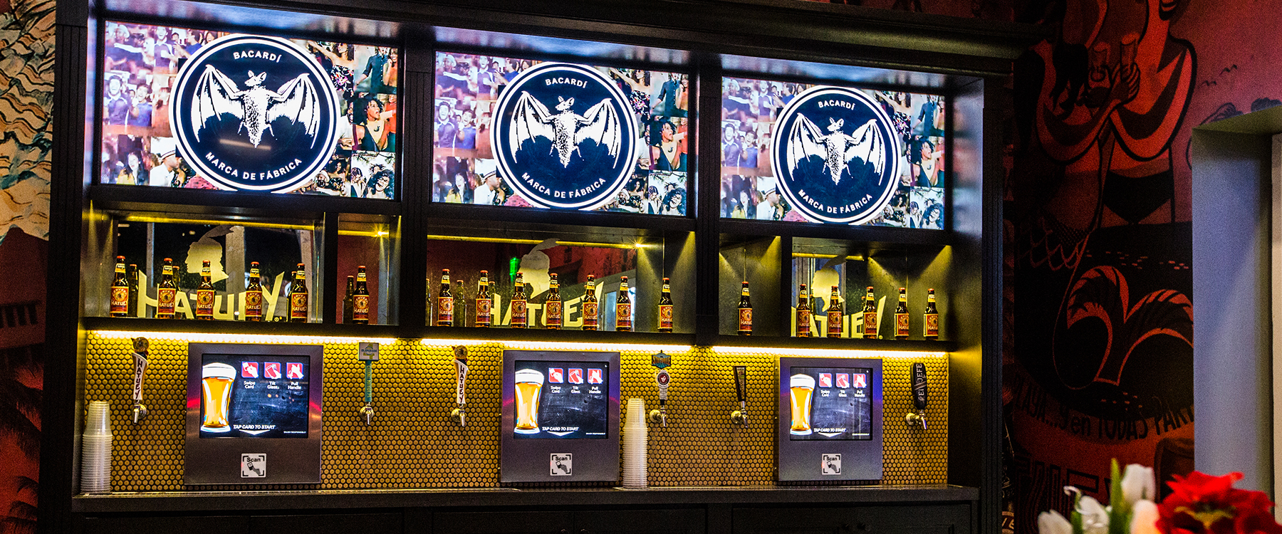 601 Miami – Bacardi / Beer Tap